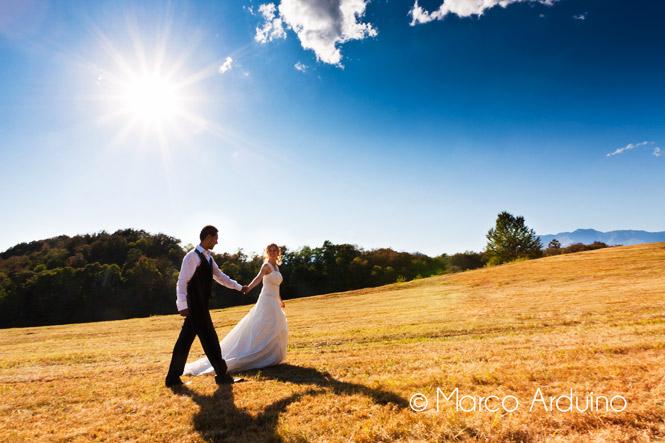 passeggiata degli sposi, fotografia di matrimonio