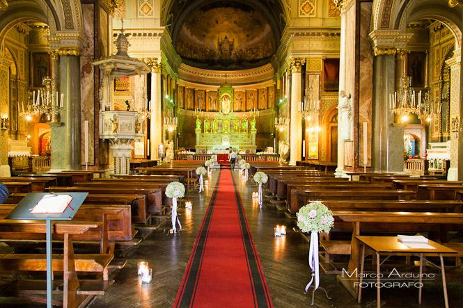 fotografo matrimonio torino chiesa santi angeli custodi