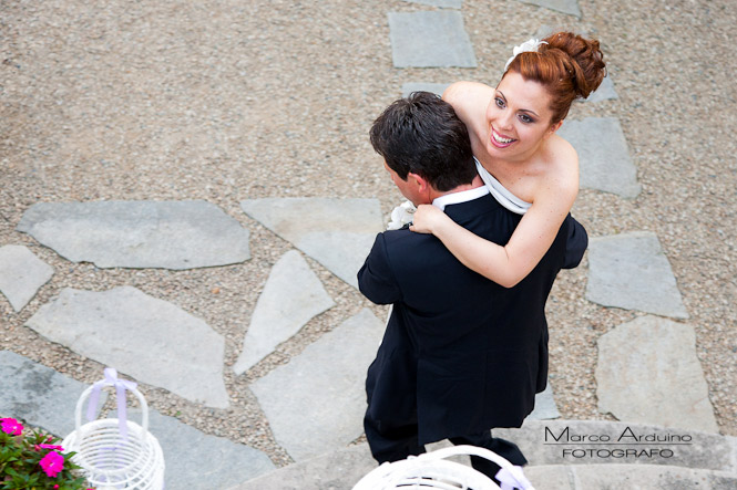 fotografo matrimonio sposi in villa somis
