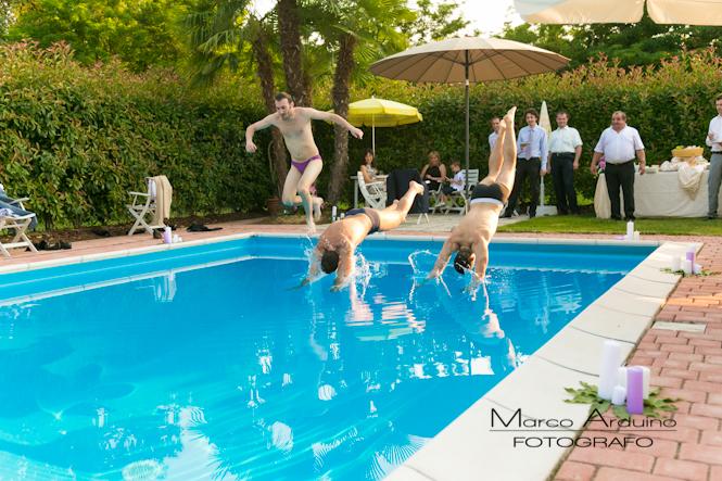 Matrimonio civile all 39 aperto in stile americano for Addobbi piscina per matrimonio