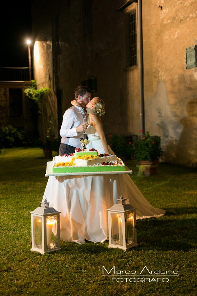 fotografo matrimonio biella taglio torta