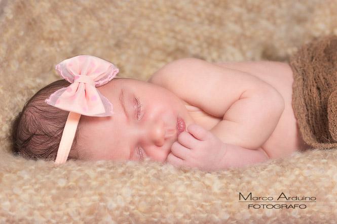 servizio fotografico di neonati bambini