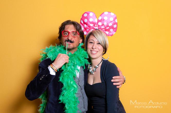 servizio fotografico photo booth per matrimoni ed eventi