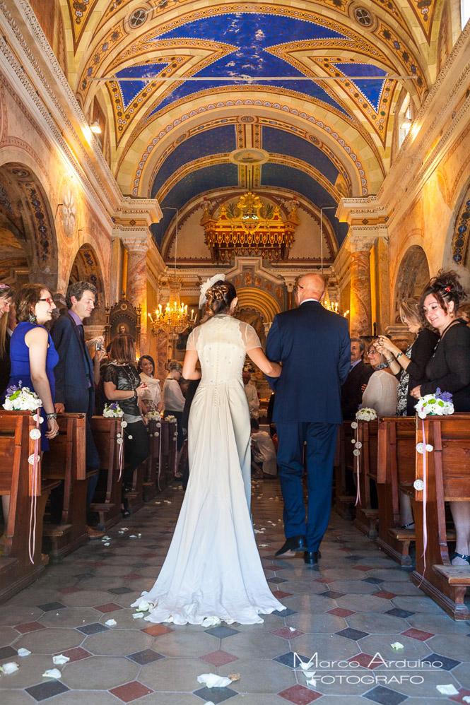 matrimonio chiesa di San Michele a Roppolo biella