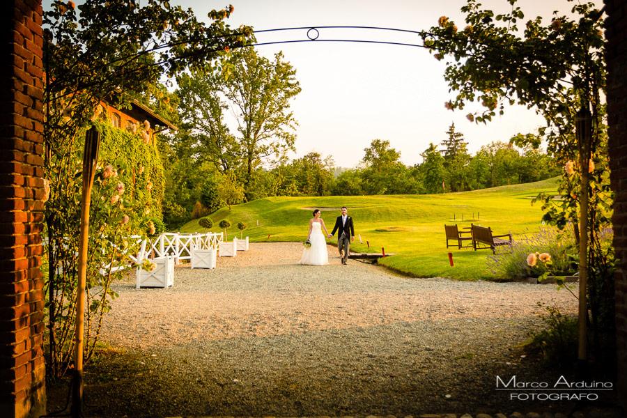 Matrimonio Country Chic Torino : Matrimonio country chic piemonte tenuta castello golf club biella