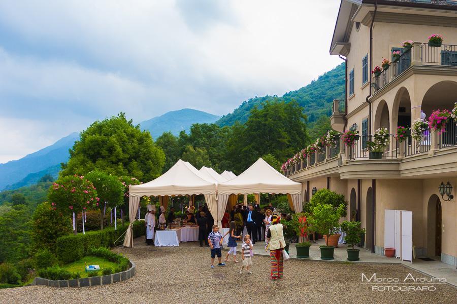 fotografo matrimonio villa Ortea lago Orta