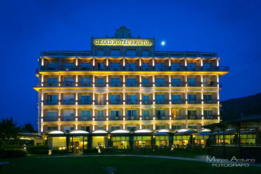 fotografo matrimonio Grand hotel bristol Stresa