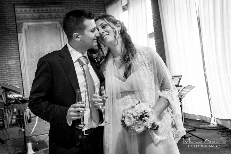 fotografo matrimonio castello di cerrione biella