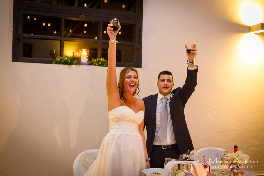 ricevimento matrimonio tenuta castello di cerrione biella torino