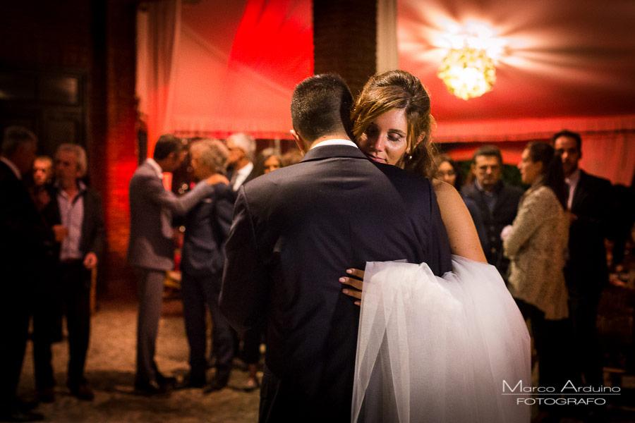 romantico ballo degli sposi biella tenuta castello golf club cerrione