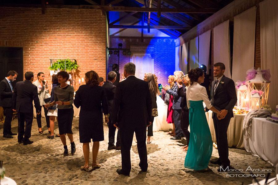 festa di matrimonio tenuta castello di cerrione biella