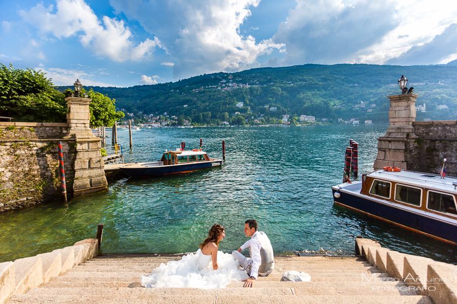 fotografo matrimonio Stresa isole Borromee lago maggiore