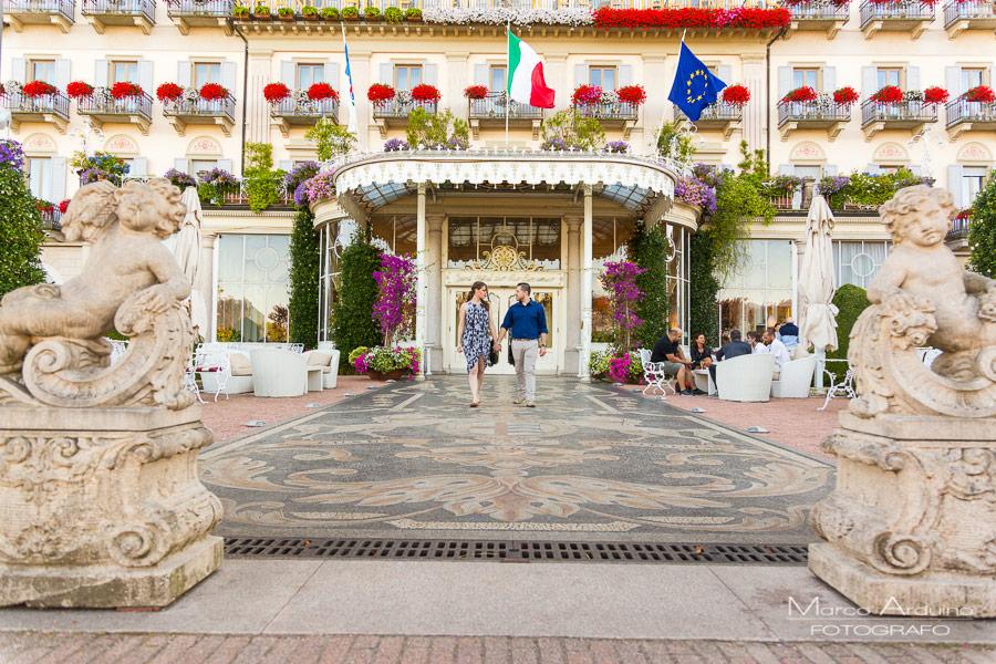 engagement Grand Hotel des Iles Borromees Stresa lago Maggiore