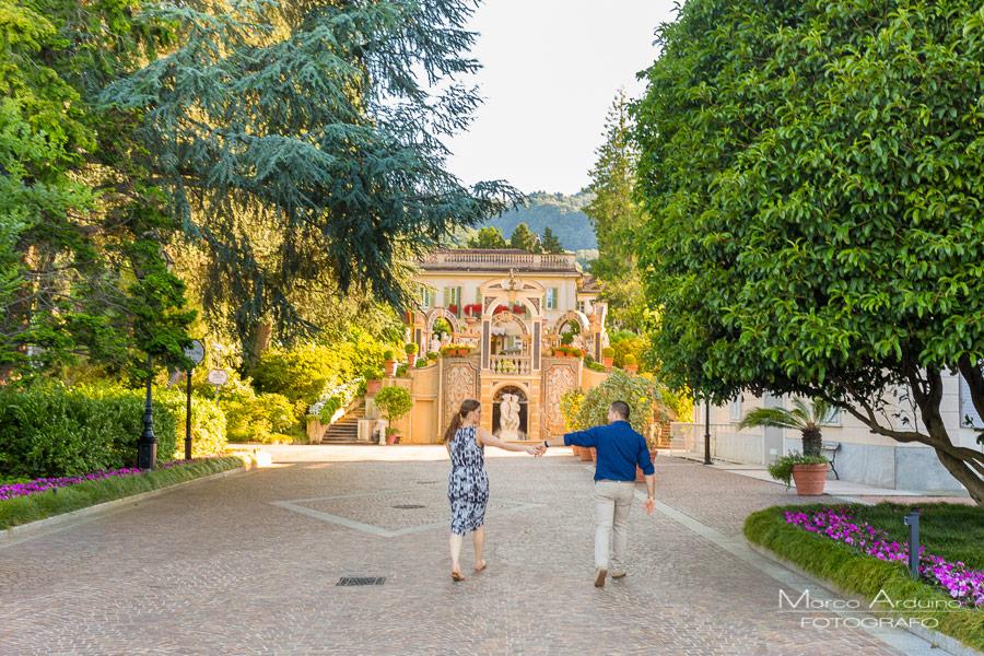 ritratto di coppia Grand Hotel des Iles Borromees Stresa lago Maggiore