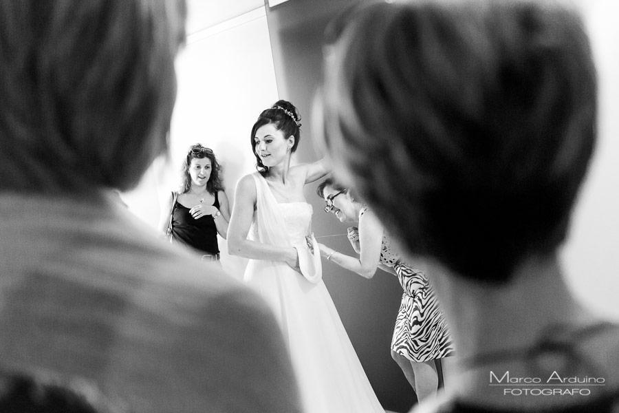 preparazione sposa fotografo matrimonio novara