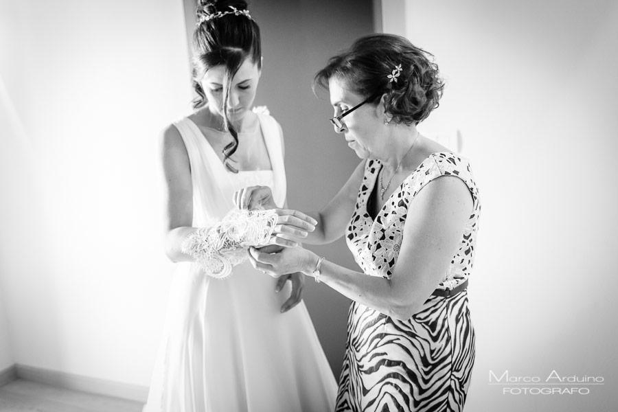 la preparazione della sposa fotografo matrimonio novara