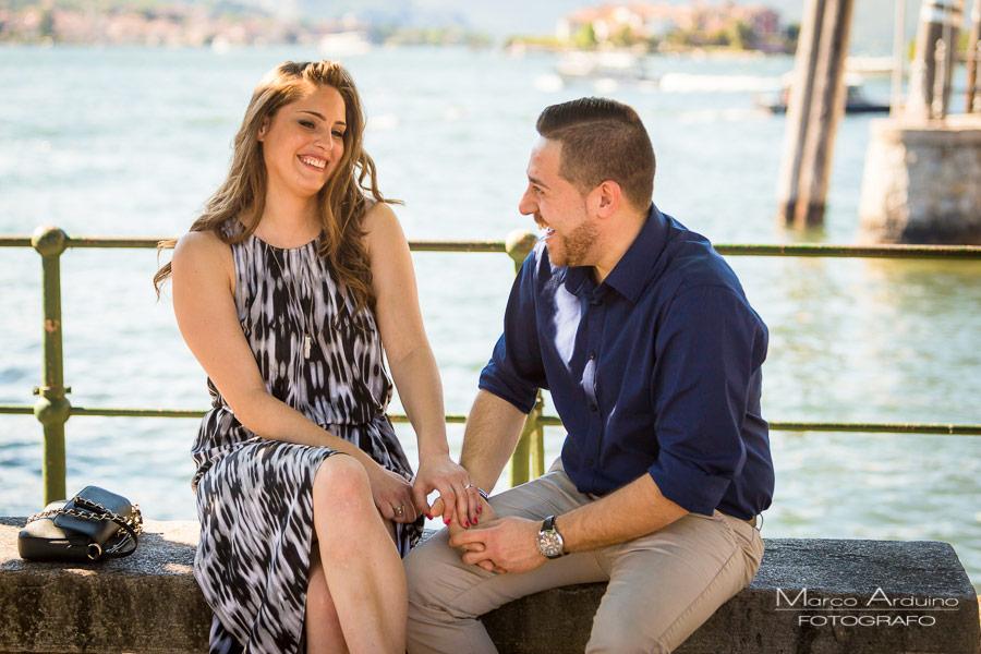isole borromeo engagement prematrimoniale lago Maggiore