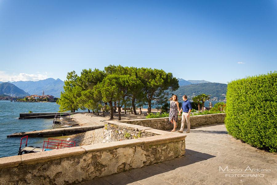 engagement isola bella Stresa Verbania lago Maggiore