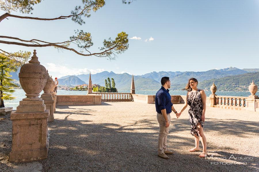 engagement isola bella verbania Stresa lago Maggiore