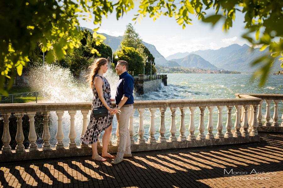 prematrimoniale - engagement Stresa lago Maggiore