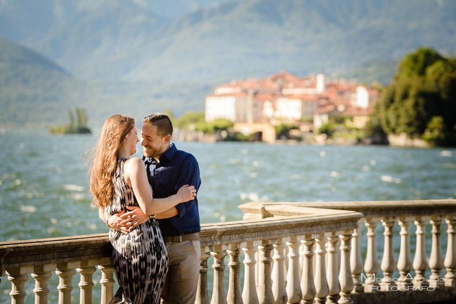 engagement a Stresa lago Maggiore