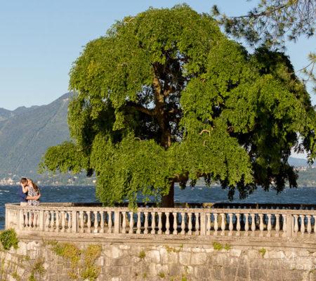 engagement sul lago maggiore