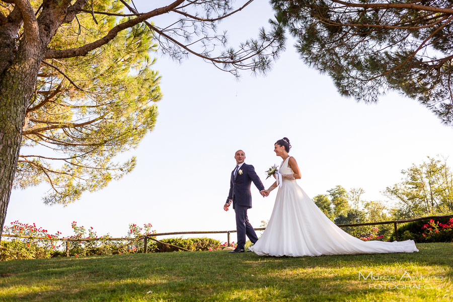 foto sposi parco le cicogne novara