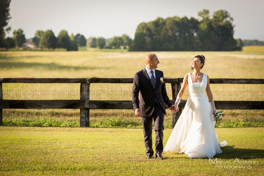 fotografo per matrimoni parco le cicogne novara