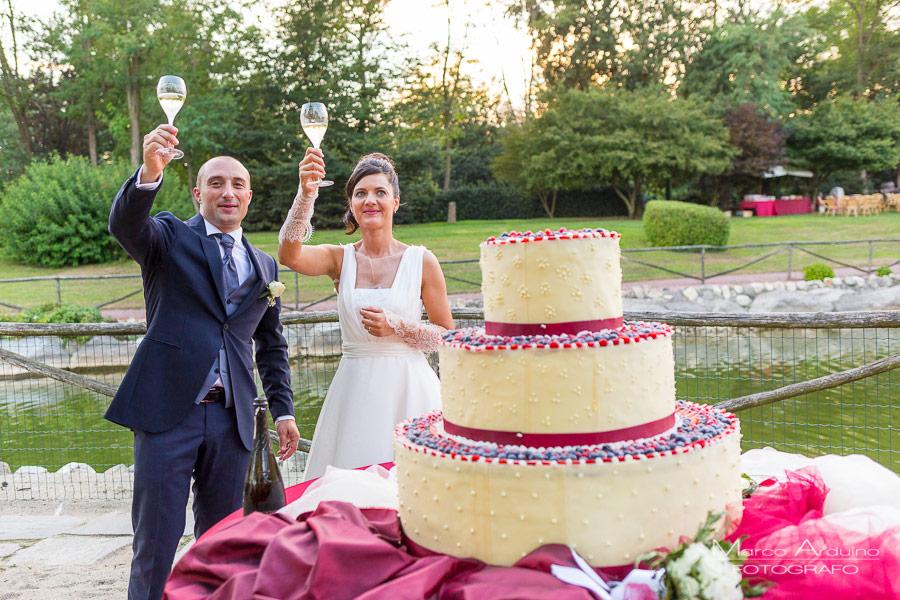 foto sposi parco le cicogne novara servizio fotografico di matrimonio
