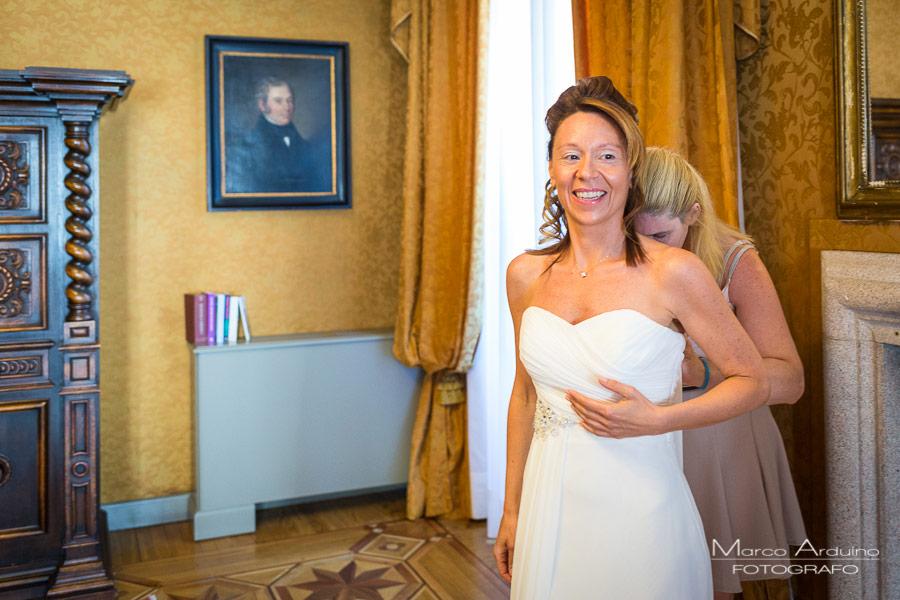 servizio fotografico di matrimonio villa crespi
