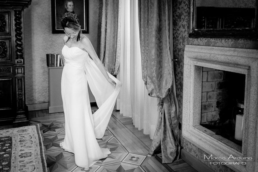 fotografo matrimonio villa crespi