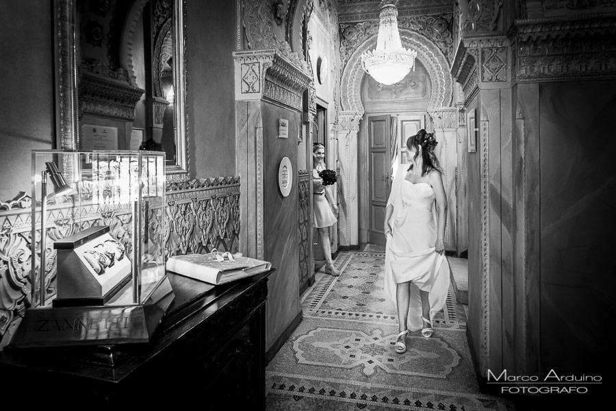 servizio fotografico di nozze villa crespi