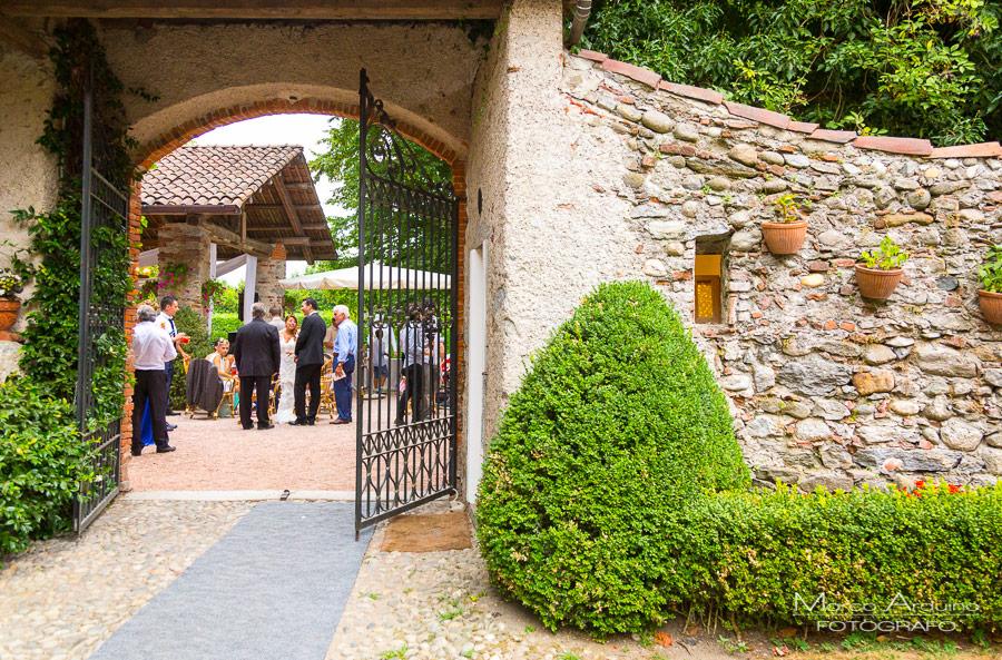 ricevimento matrimonio abbazia santo spirito villa giannone Novara