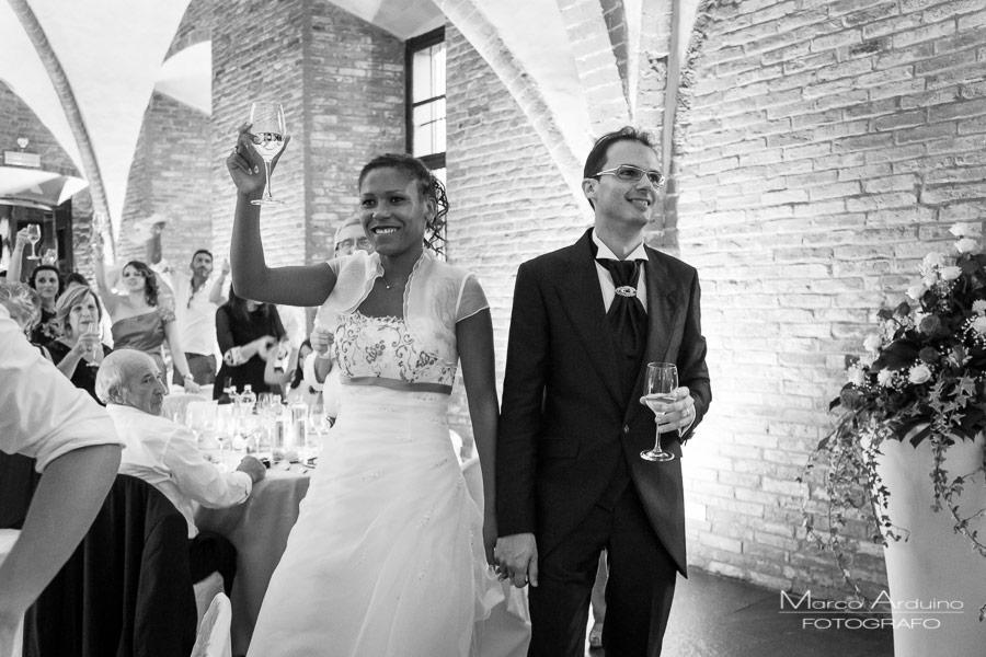 ricevimento di nozze al principato di lucedio
