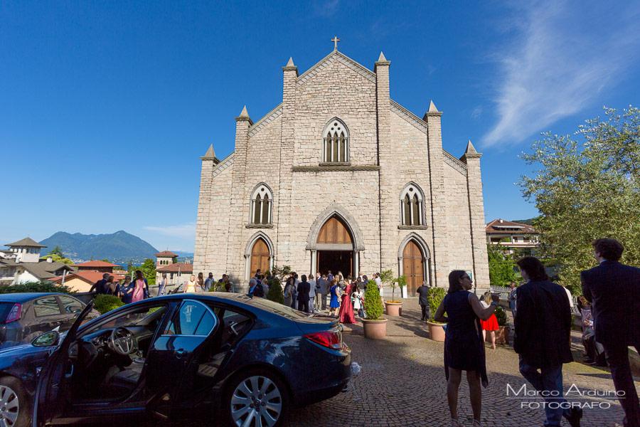 Matrimonio chiesa di Carciano Stresa