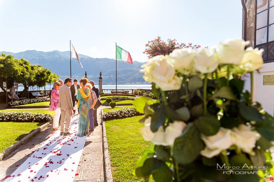 matrimonio civile sul lago d'Orta