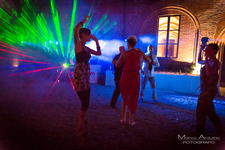 festa di matrimonio al principato di lucedio