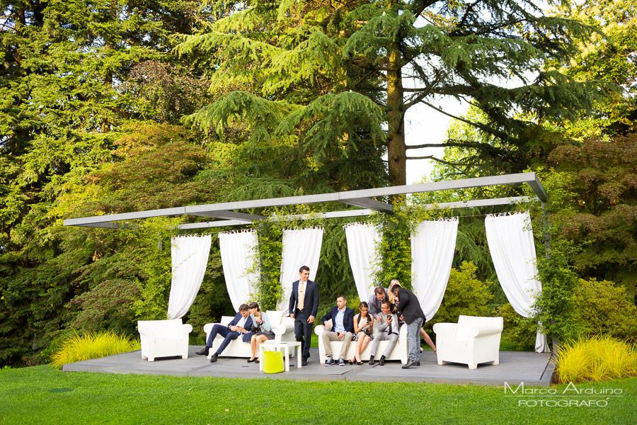 Ricevimento di nozze a Villa Frua Stresa