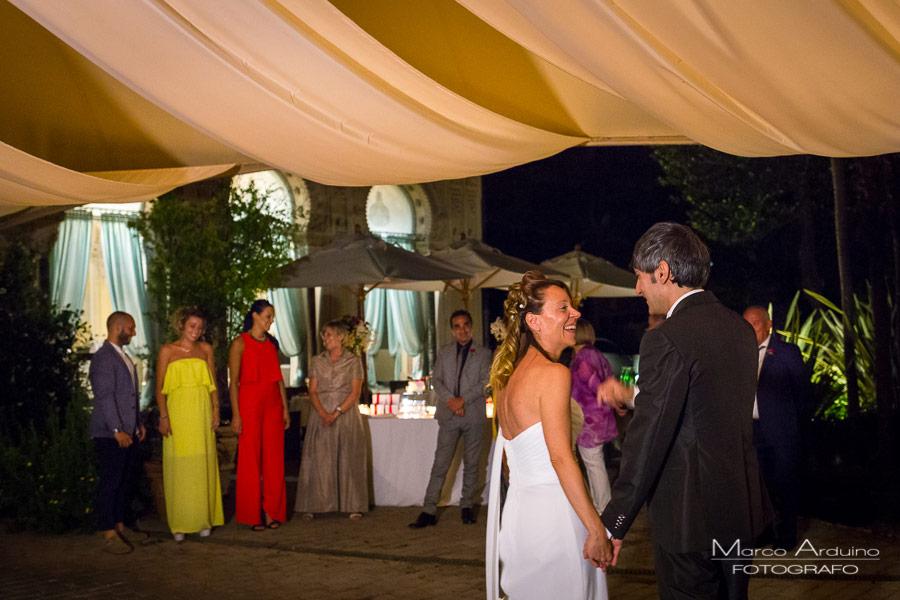 ricevimento matrimonio villa crespi