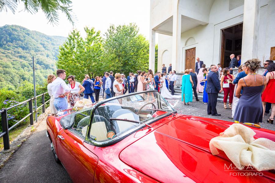 Matrimonio Santuario di Locarno a Varallo
