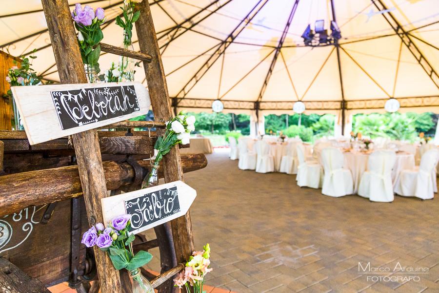 Ricevimento di nozze al Parco le Cicogne