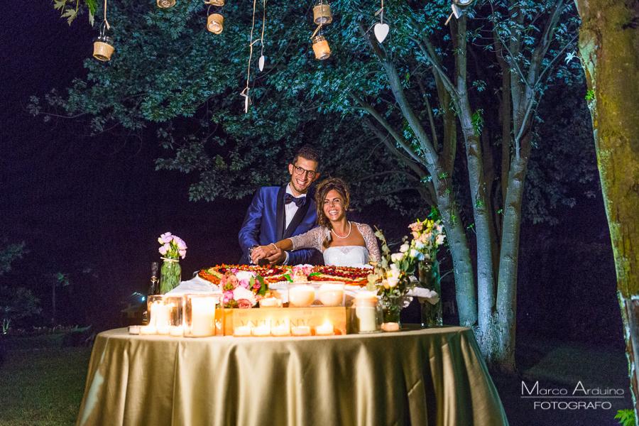Il finale perfetto alla vostra festa di nozze, sarà un indimenticabile taglio torta, fra la complicità di un cielo stellato e bracieri in fuoco.