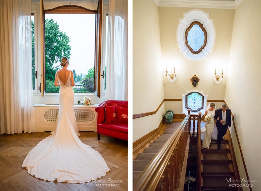 fotografo matrimonio a villa frua