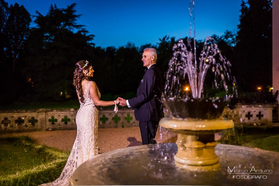 castello dal pozzo foto di matrimonio