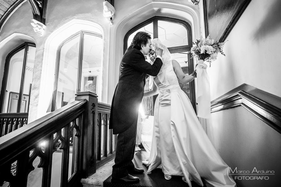 fotografo matrimonio castello dal pozzo