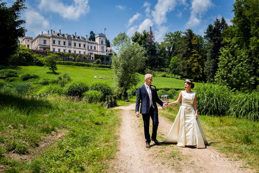 servizio fotografico di matrimonio castello dal pozzo